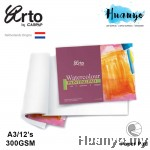 Campap Arto Netherlands Watercolour Painting Pad  A3 - 300gsm (100% Cotton, Cold Pressed,Medium Surface)