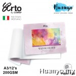 Campap Arto Watercolour Painting Pad  A3 - 200gsm (25% Cotton, Hot Pressed)