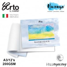 Campap Arto Fabriano Watercolour Painting Pad  A3 - 200gsm (25% Cotton, Cold Pressed)