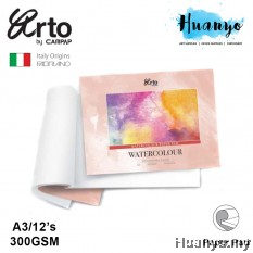 Campap Arto Watercolour Painting Pad  A3 - 300gsm (25% Cotton, Hot Pressed)