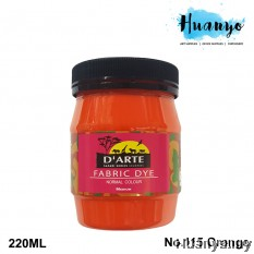 D'Arte Fabric Paint (Orange)