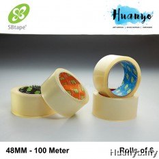 SB Tape Transparent OPP Tape 48MM (Rolls of 6)