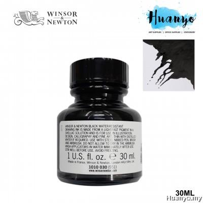 Winsor & Newton Drawing Ink - Black(30ml)
