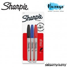 Sharpie Permanent Marker Fine (Colors of 3) - SMSA1741831H
