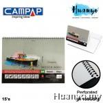 Campap Premium Sketch Book A4 135gsm - 15 sheets