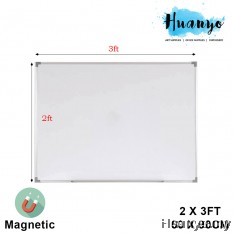 Magnetic White Board 2' X 3'