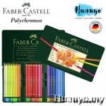 Faber-Castell Polychromos Artist Colour Pencil Tin (Colours of 60)
