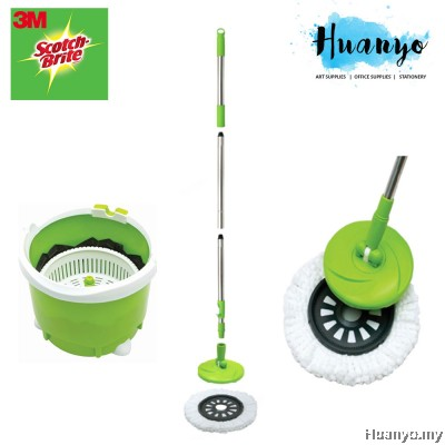 3M Scotch Brite Single Spin Mop Bucket
