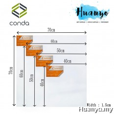 Conda Artist Stretch Canvas (Square Size: 30/40/50/60/70cm²)