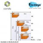 Conda Artist Stretch Canvas (A series: A5/A4/A3/A2 size)