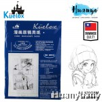 Kuelox Comic Manga Anime Manuscript Paper A4 30 Sheets