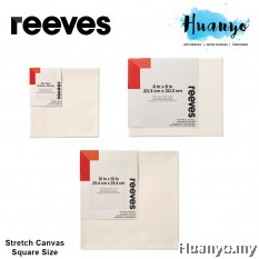 Reeves Artist Stretch Canvas Square Size (10/15/20/25 cm²)
