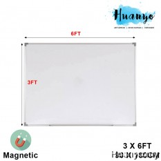 Magnetic White Board 3' X 6'