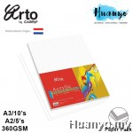 Campap Arto Acrylic Painting Paper Pack 360gsm (A4 / A3 / A2)