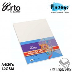 CAMPAP Arto A4 Tracing Paper 60gsm  - 20 Sheet/Pack