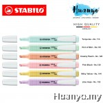 Stabilo Swing Cool Pastel Highlighter Highlight Pen with Pocket Clip