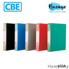 CBE 4 Holes Clear Holder Book A4 402A (Refillable)