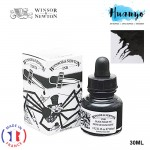 Winsor & Newton Drawing Ink With Dropper - Black Indian Ink(30ml)