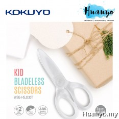 Kokuyo Pastel Cookie Fit Saxa ABS All Plastic Safe Kids Scissors
