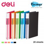 Deili PP Cover Clear Folder Display Book - 20 sheets