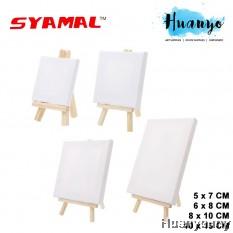 Syamal Mini Art Canvas with Easel (6 x 8 cm , 8 x 10cm , 5 x 7 cm, 10 x 15 cm) [Per Pcs]