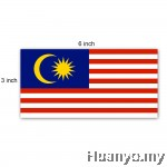Bendera Malaysia - Malaysia Flag - 3´ x 6´ (90cm x 180cm) Set of 2