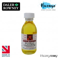 Daler Rowney Purified Linseed Oil 175ML