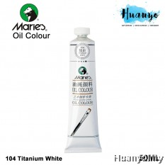 Marie's Oil Colour 50ml (104 Titanium White )