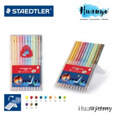 Staedtler Luna Water Colour Color Pencil - 12 Colour (Slim Plastic Case Set)