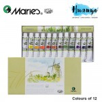 Marie's Water Colour Painting Set (12 Colour X 12ML Tube)