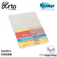 CAMPAP Arto A3 Tracing Paper 100gsm  - 20 Sheet/Pack