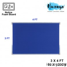 Aluminium Frame Notice Foam Board (3' X 4' / 90 x 120 CM)