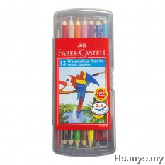 Faber-Castell Watercolour Pencil 12S