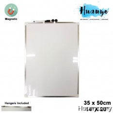 Double Sided Portable Magnetic White Board (35 x 50 cm / 14 x 20 inch)