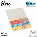 CAMPAP Arto A4 Tracing Paper 100gsm  - 20 Sheet/Pack