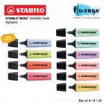 Stabilo Boss Original Pastel Highlighter Highlight Pen (Set of 4 / 6 / 10)
