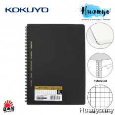 KOKUYO Soft Ring 5mm Graph Grid Note Book A5 70gsm 70 sheets