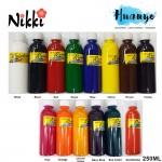 NIKKI Rainbow Non Toxic Fabric Paint Dye (250ML)