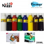 NIKKI Rainbow Fabric Paint Dye (250ML)