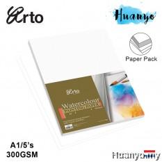 Campap Arto Watercolour A1 85 X 60 CM Painting Paper 300gsm/5pcs (Cotton)