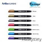 Artline Supreme Calligraphy Marker Pen Bullet Tip 1.0MM Metallic Colour (Per Pcs)