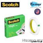 3M Scotch 810 Invisible Adhesive Magic Tape 12.7mm x 33m