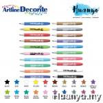 Artline Decorite Multi Surface Marker - Bullet Tip (1.0MM)