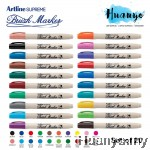 Artline Supreme Calligraphy Brush Marker Pen (Set of 20)