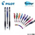 Pilot Wingel G1 Rubber Grip Gel Pen 0.5mm / 0.7mm Tip