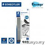 Staedtler mars Lumograph Charcoal Pencil (Set of 4)
