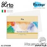 Campap Arto Fabriano Watercolour Paper A4 / A4+/ A3 270GSM 12 Pcs (25% Cotton-Extra Rough)