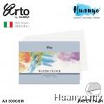Campap Arto Fabriano Watercolour Paper A3 300GSM 12 Pcs (25% Cotton Cold Pressed)