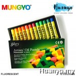 Mungyo Gallery Artists' Oil Pastel Fluorescent 12 Colours