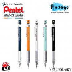 Pental Graph Gear 600 Drafting Technical Mechanical Pencil PG607 0.5MM / 0.7mm